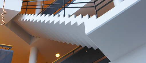 Image of stairs in office