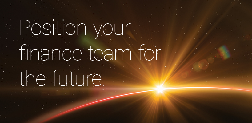 Position your finance team for the future