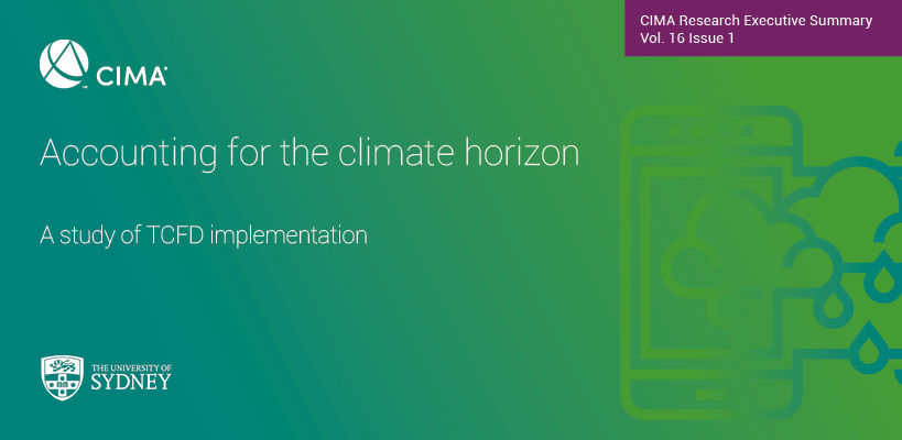 Accounting for the climate horizon : A study of TCFD implementation