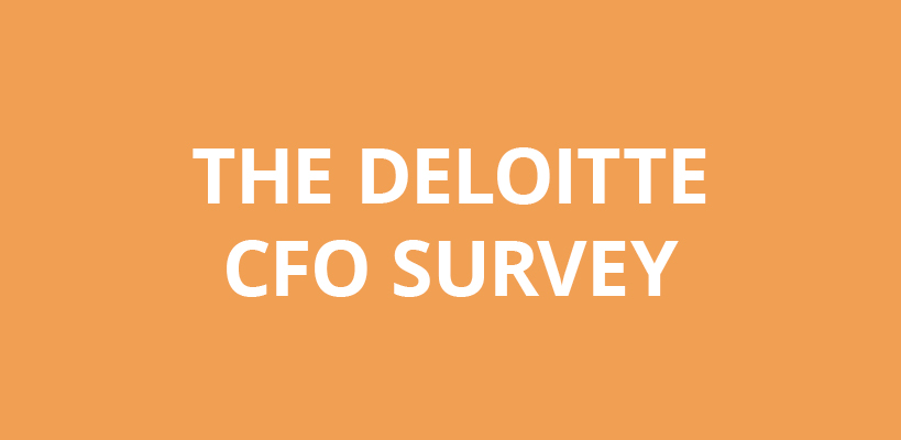 Deloitte CFO Survey - Q1 2013