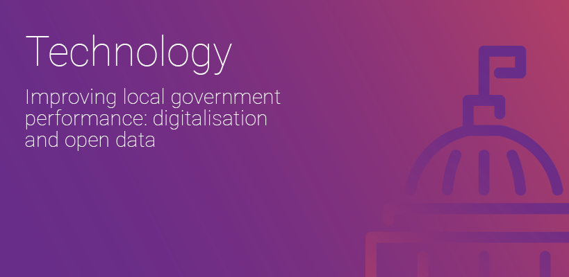 Technology in government performance: Digitalization and open data