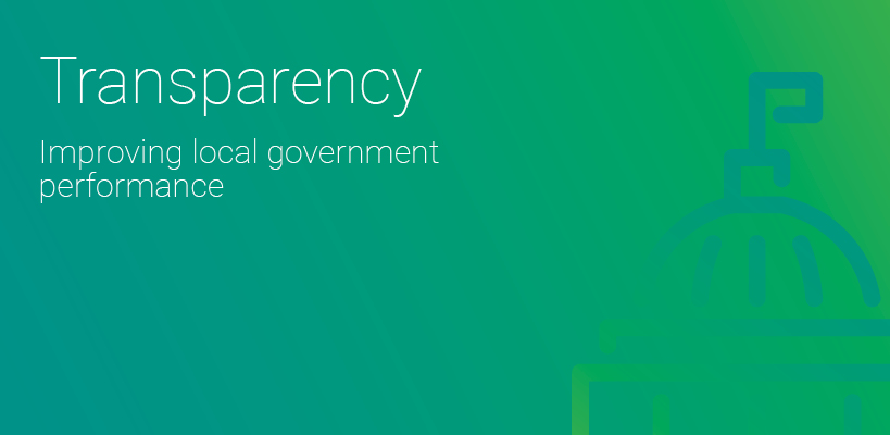 Transparency in government performance