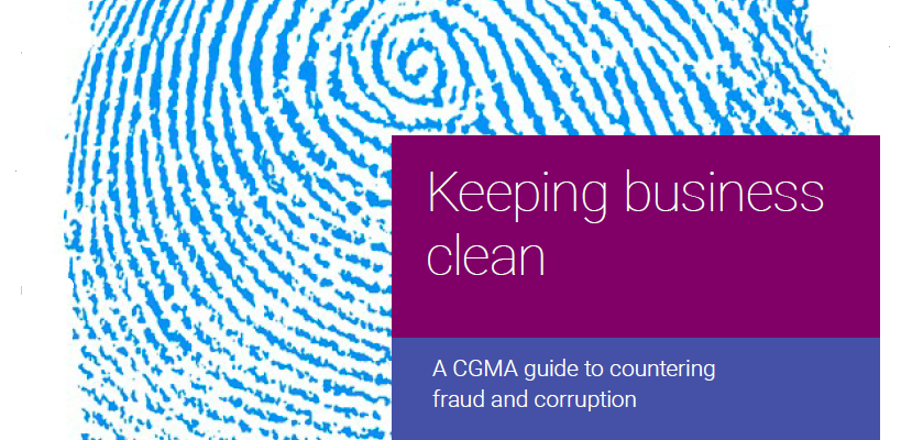 A CGMA guide to countering fraud and corruption