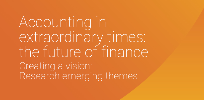 The Future of Finance: Research emerging themes