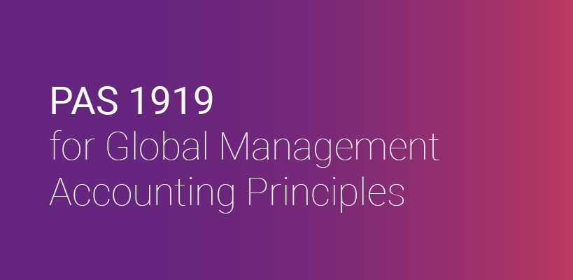 PAS 1919 guide to management accounting principles