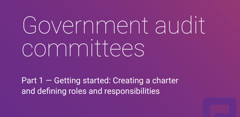 Government Audit Committees – Part 1 – Charter, Roles and Responsibilities