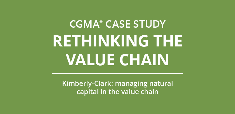 Kimberly-Clark - managing natural capital in the value chain