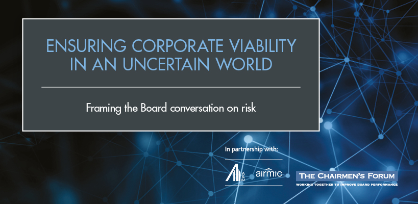 Ensuring corporate viability in an uncertain world