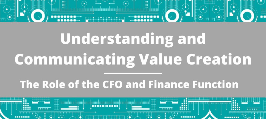 The CFO and finance function role in value creation