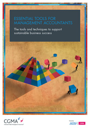 Essential tools for management accountants - front cover