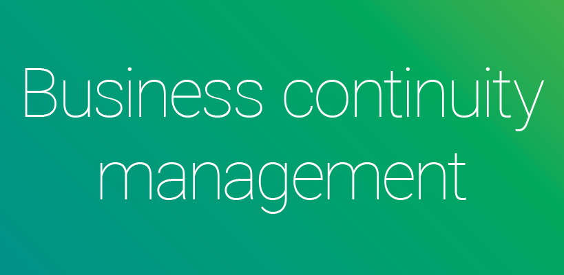 Business Continuity Management - Key Strategies and Processes
