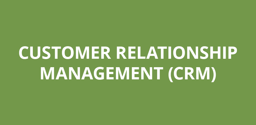 customer relationship manangement