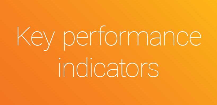 Six categories of key performance indicators