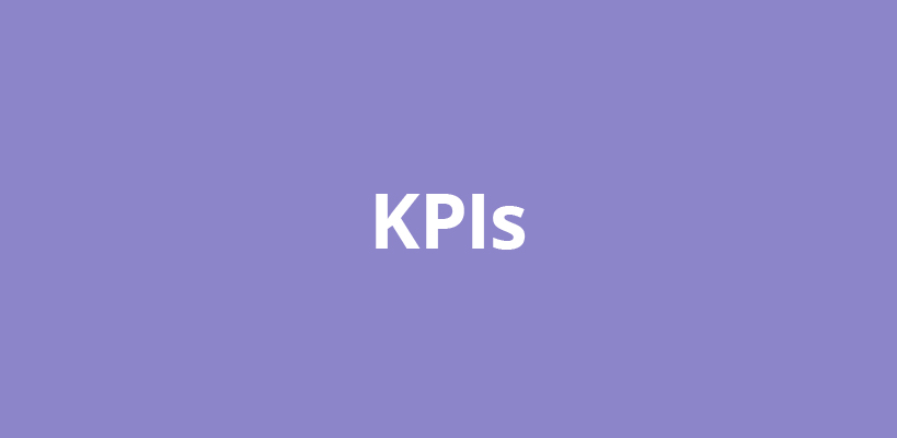 KPIs – financial and non-financial