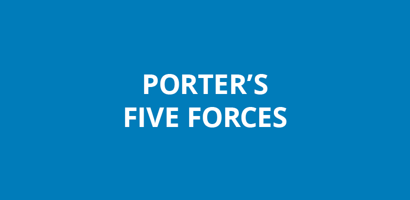 Porter's Five Forces of Competitive Position ysis on