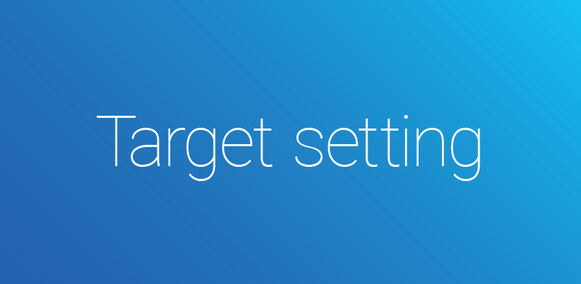How to set the right performance targets: a 10 step target setting tool